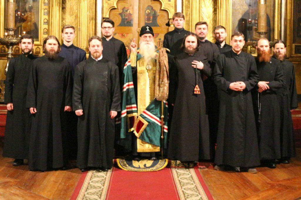 Хор Московского Старообрядческого Собора Покрова Божей Матери, что на Рогожском